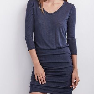 Velvet by Graham and Spencer Grey Dress Small